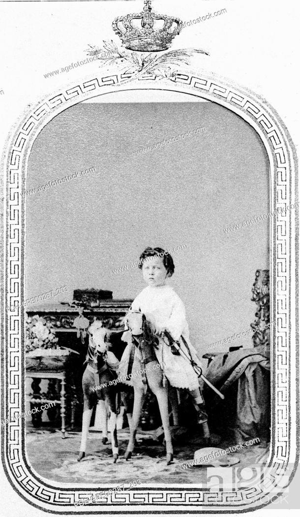 Imperial Prince Napoleon, Eugene Louis Napoleon (1856-1879