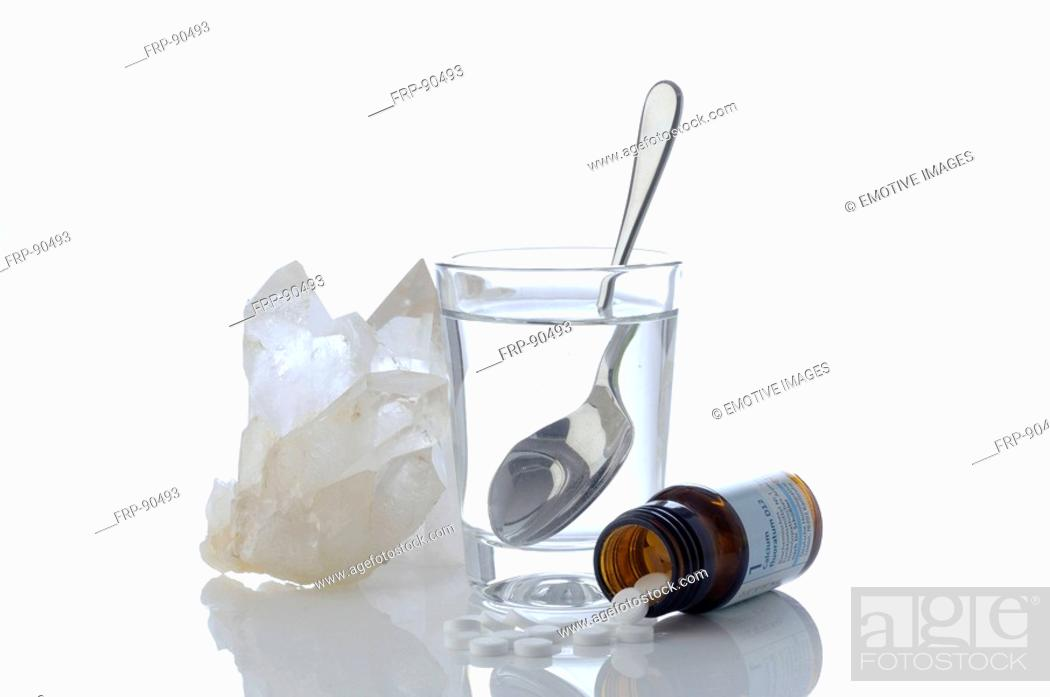 Stock Photo: Schuessler - soluble salts.