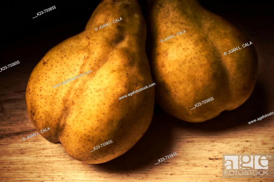 Stock Photo: Pears, still life.