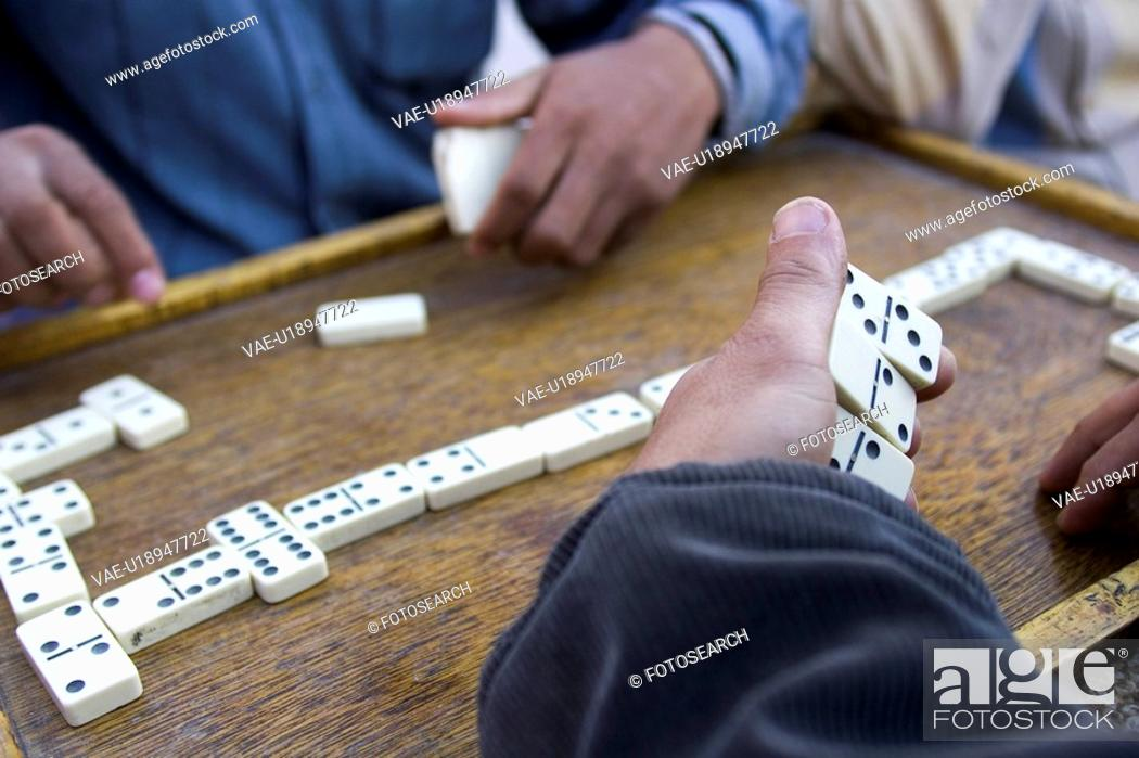 Stock Photo: Board Game, Day, Domino, Game, Holding.