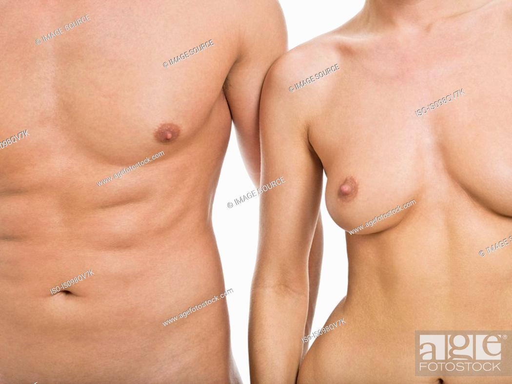 Stock Photo: Nude couple.