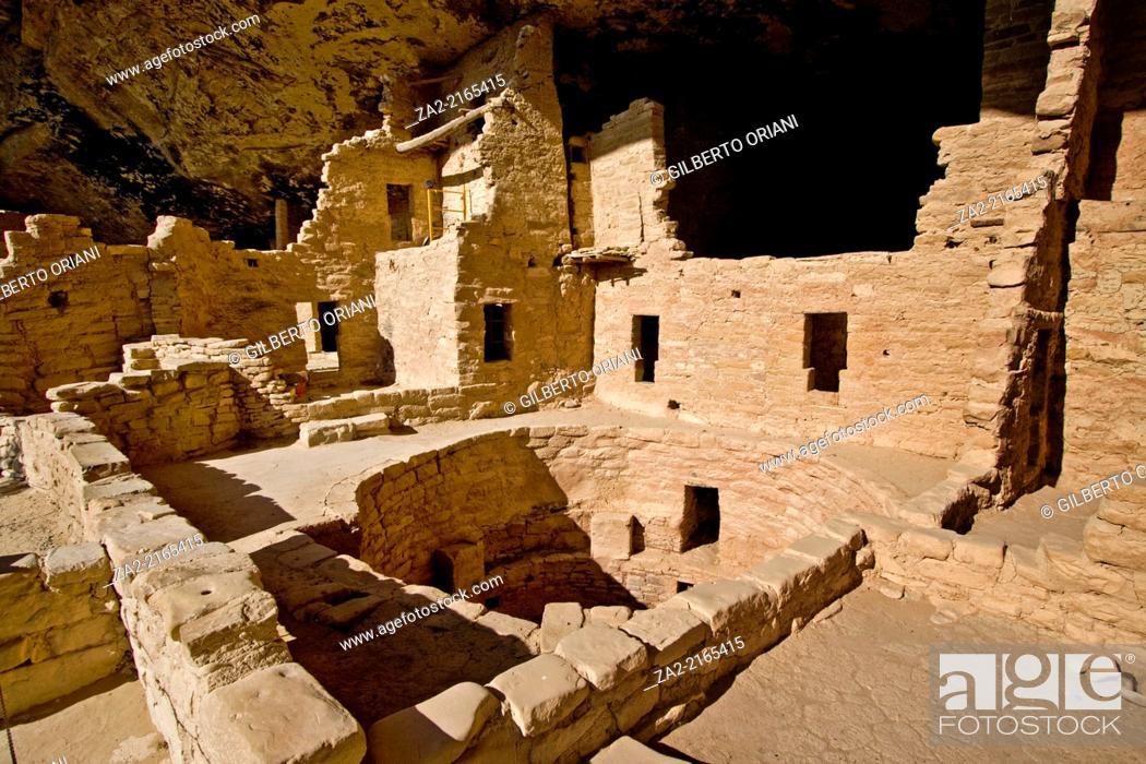 Photo de stock: USA Colorado Mesa Verde.