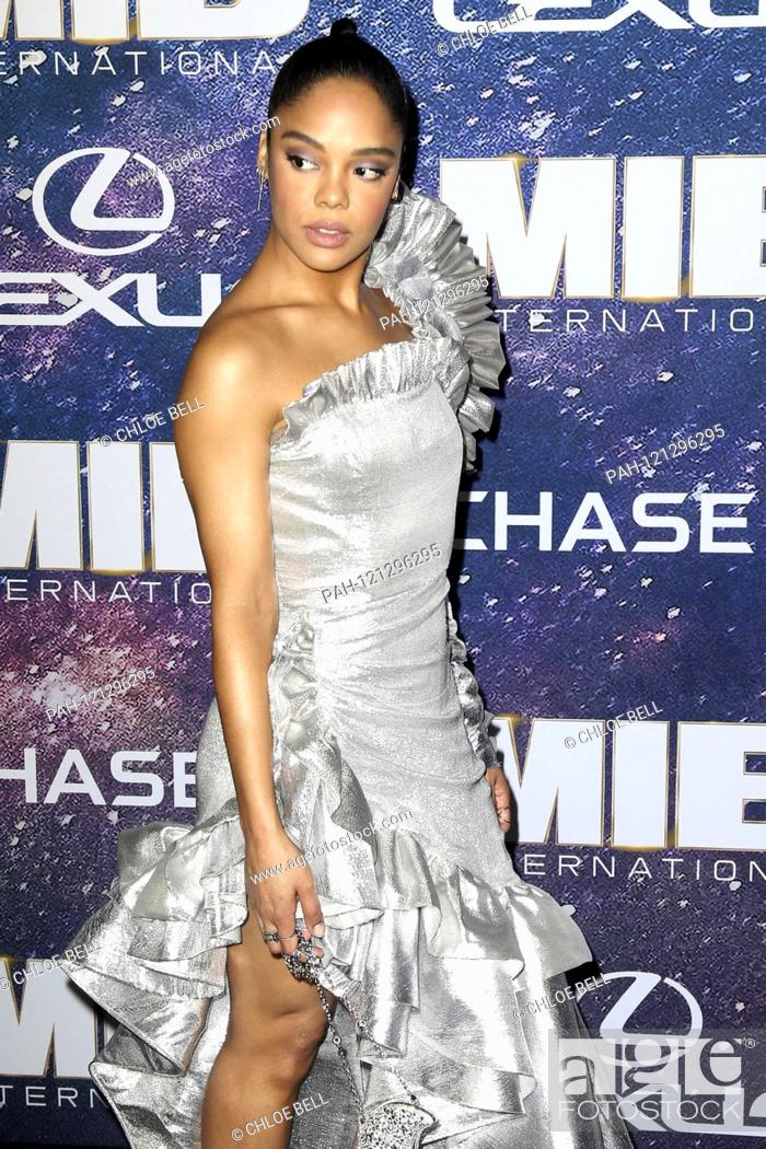 Stock Photo: Tessa Thompson at the world premiere of the movie 'Men in Black: International' at AMC Loews Lincoln Square 13. New York, 11.06.2019 | usage worldwide.