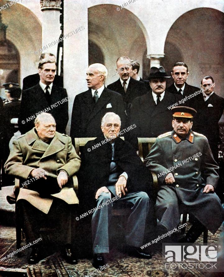 Yalta Conference Of Allied Leaders World War Ii 4 11 February 1945