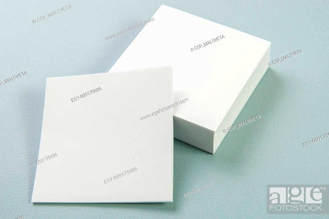 Stock Photo: Photo. Template for branding identity.