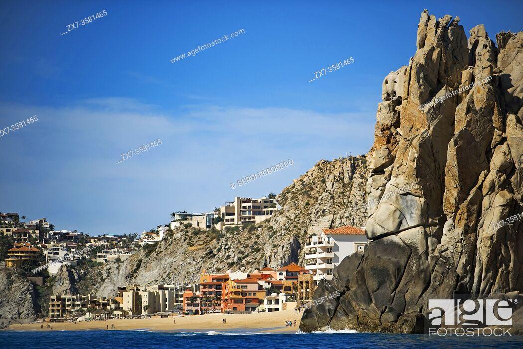 Imagen: Divorce beach and Sea Spa at Land's End in Los Cabos, Sea of Cortez, Baja California, Mexico.
