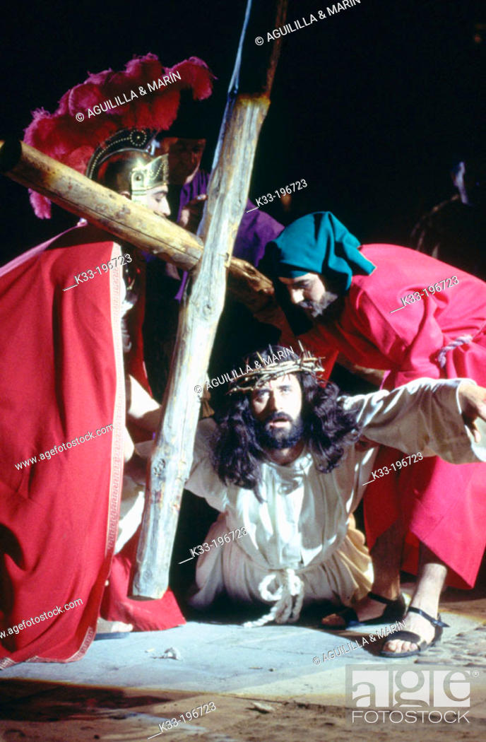 Stock Photo: Holy Week. Chinchón. Madrid province. Spain.