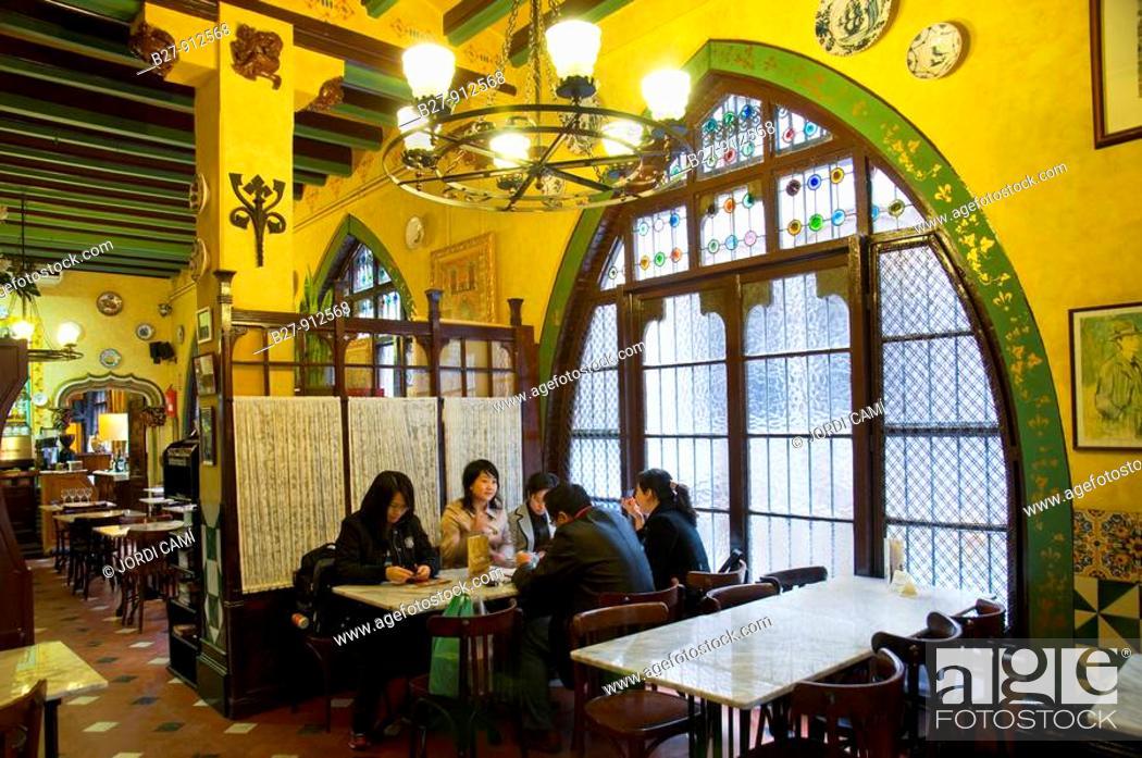Restaurant Gats Barcelona : Restaurant els quatre gats barcelona