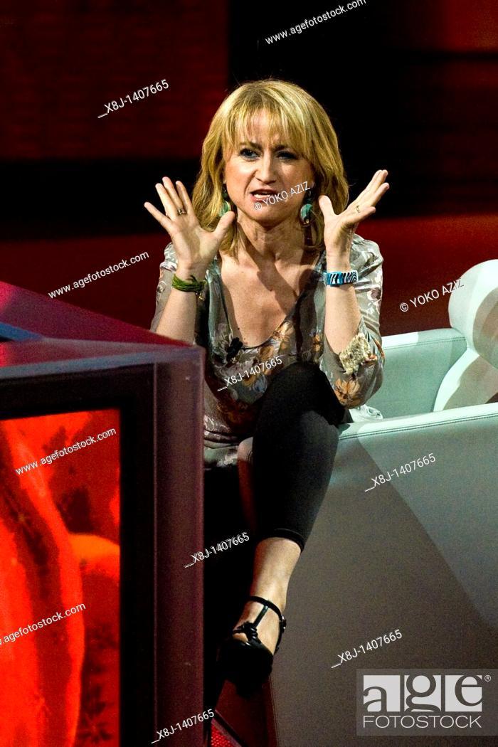 Imagen: 17 04 2011, Milan  'Che tempo che fa' telecast RAI 3  Luciana Littizzetto.