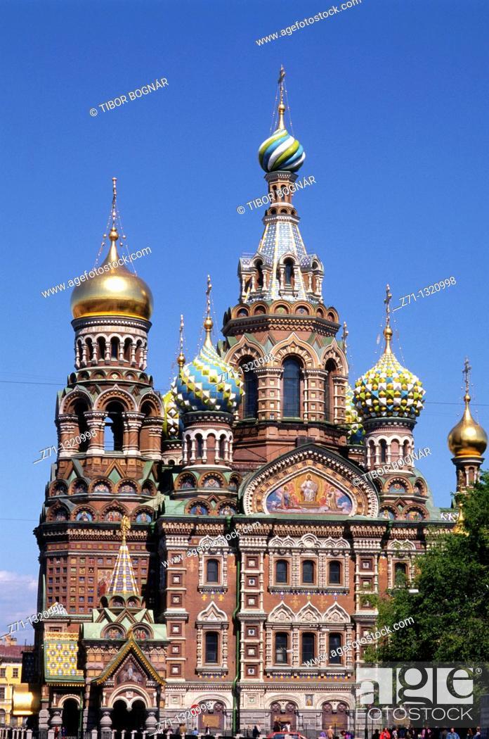 Stock Photo: Russia, St Petersburg, Resurrection Church.