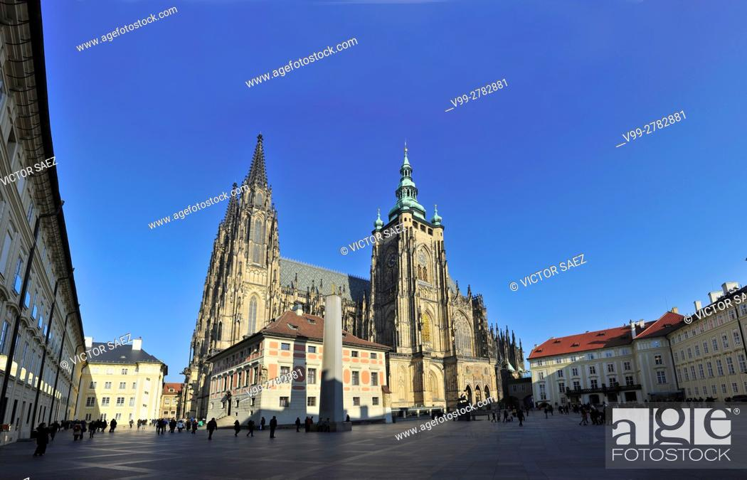 Stock Photo: Prague cathedral.