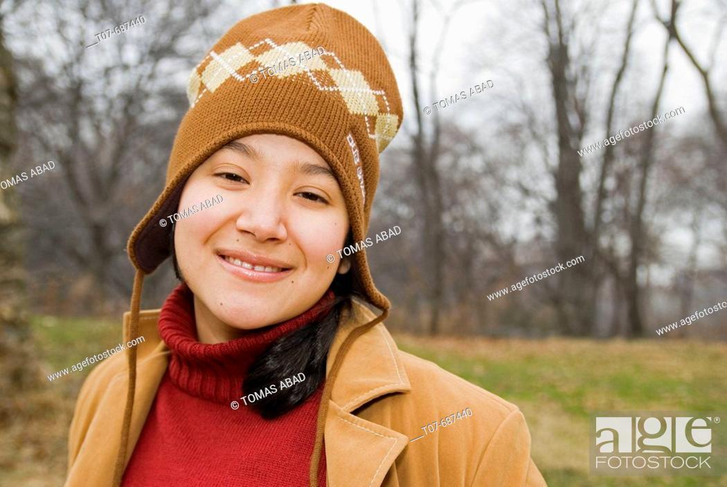 Stock Photo: Latino woman.