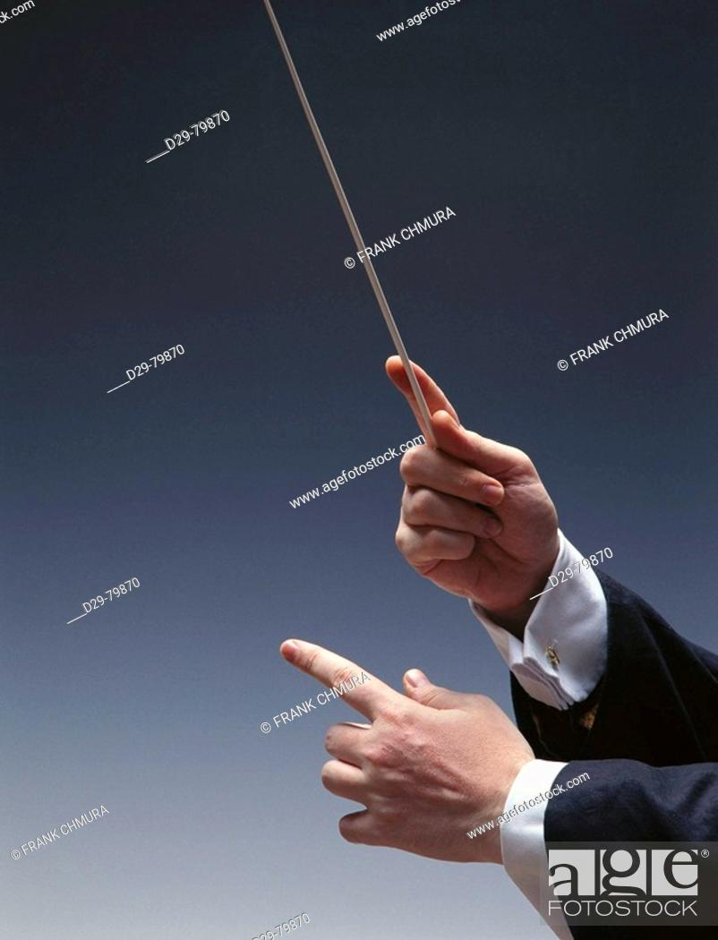 Stock Photo: Conductor.