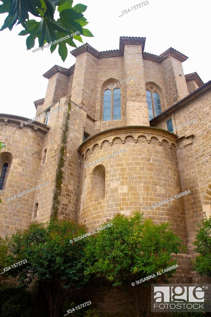 Imagen: The Cathedral of Santa Maria de Solsona is a complex of buildings dating from the late twelfth to the eighteenth century, Romanesque, Gothic and Baroque.