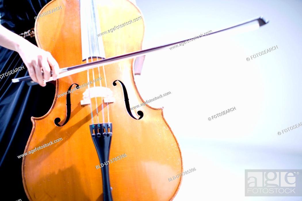Stock Photo: Cello.