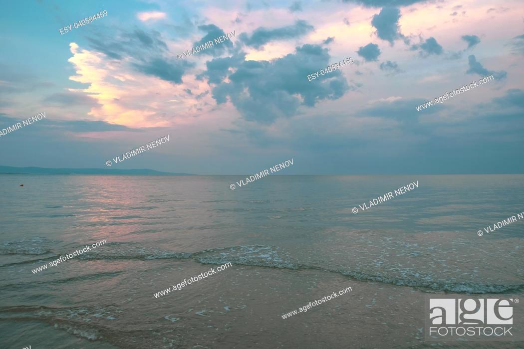 Stock Photo: Beautiful sea view.