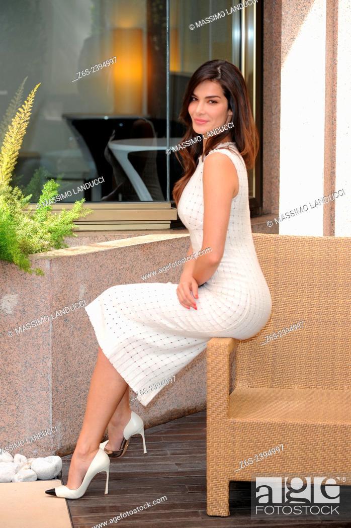 Imagen: Ilaria Spada; Spada; actress; celebrities; 2015;rome; italy;event; photocall; se Dio vuole.