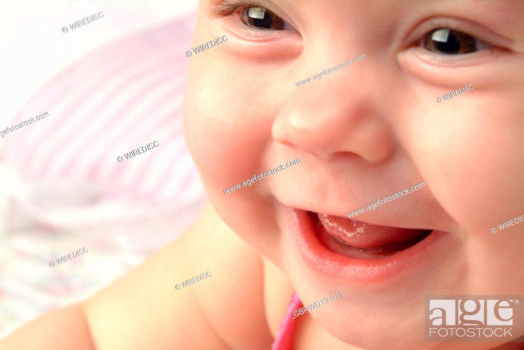 Stock Photo: People, Baby, Brazil.