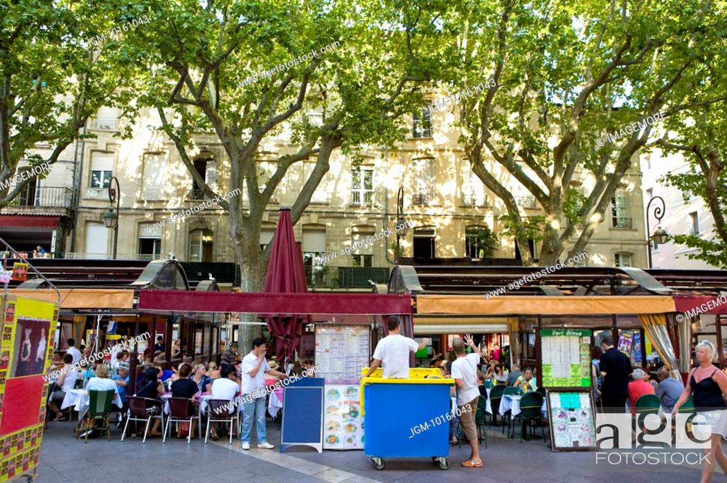 Stock Photo: City View in Avignon, Provence-Alpes-Cote d'Azur, France.