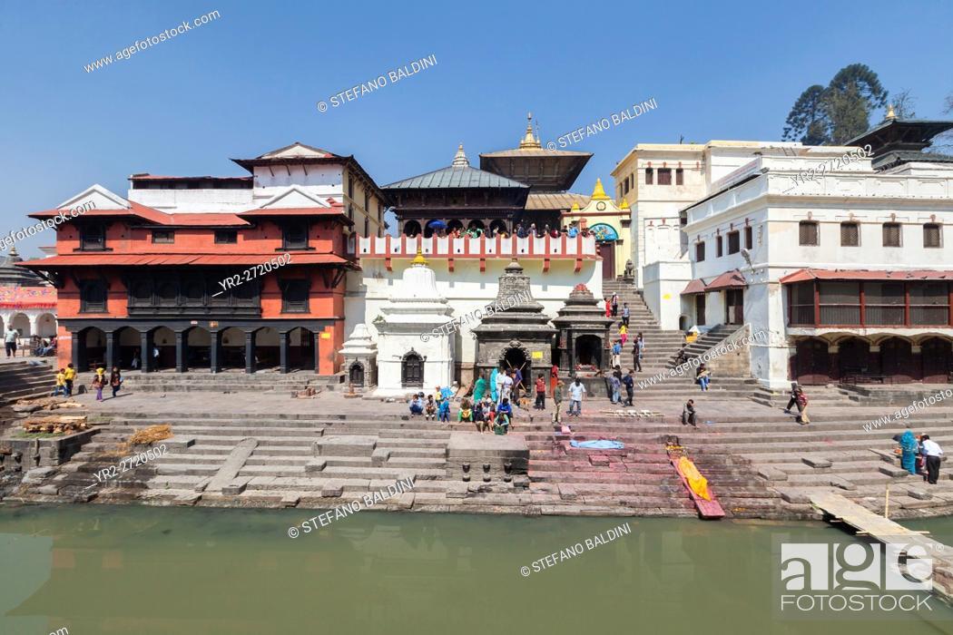 Imagen: Pashupatinath temple complex, Kathmandu, Nepal.