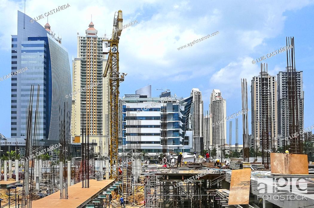 Stock Photo: Construction. Panama City. Panama.