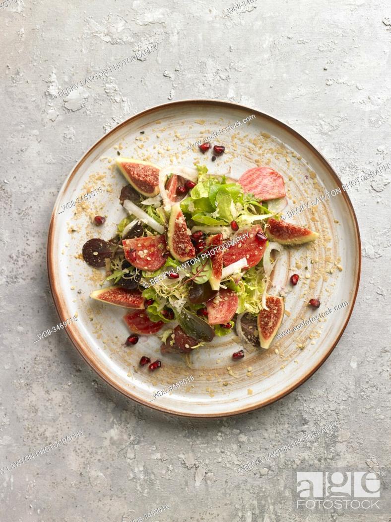 Stock Photo: Ensalada de crudos / Raw salad.