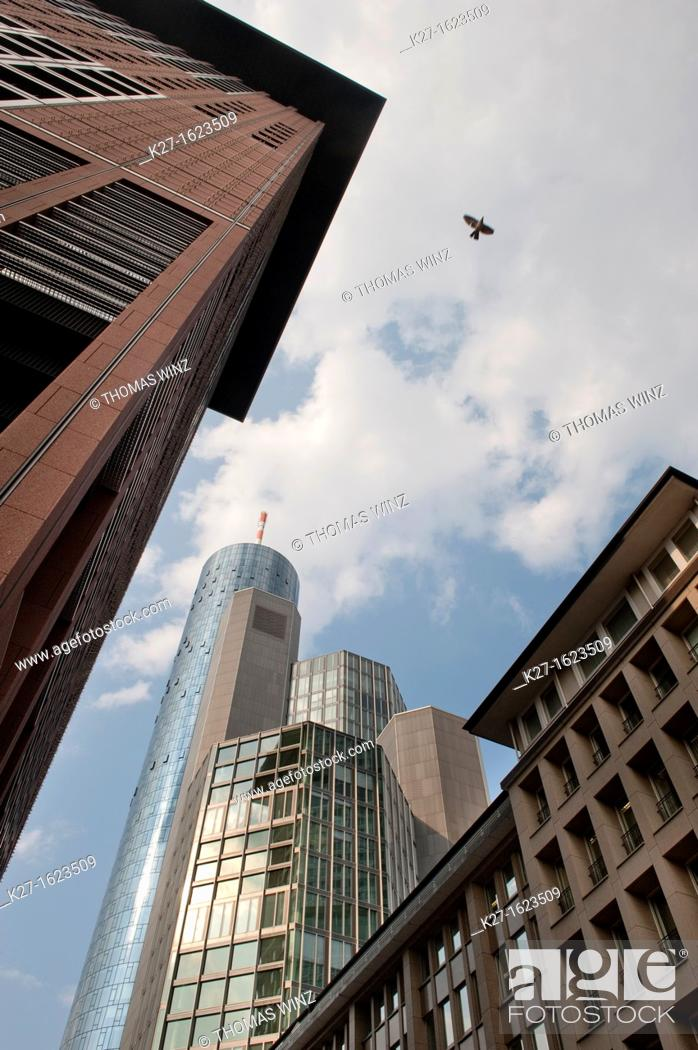 Stock Photo: Highrise buildings.