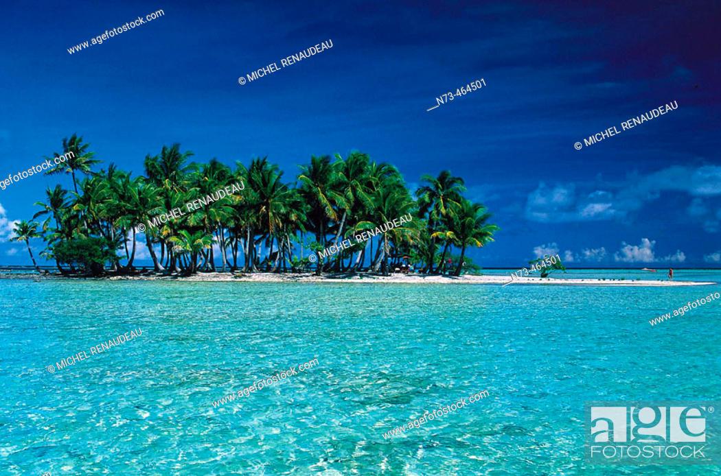 Stock Photo: Rangiroa. Tuamotu archipelago. French Polynesia.