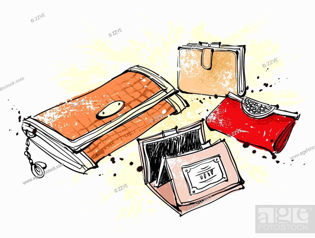 Stock Photo: wallets.