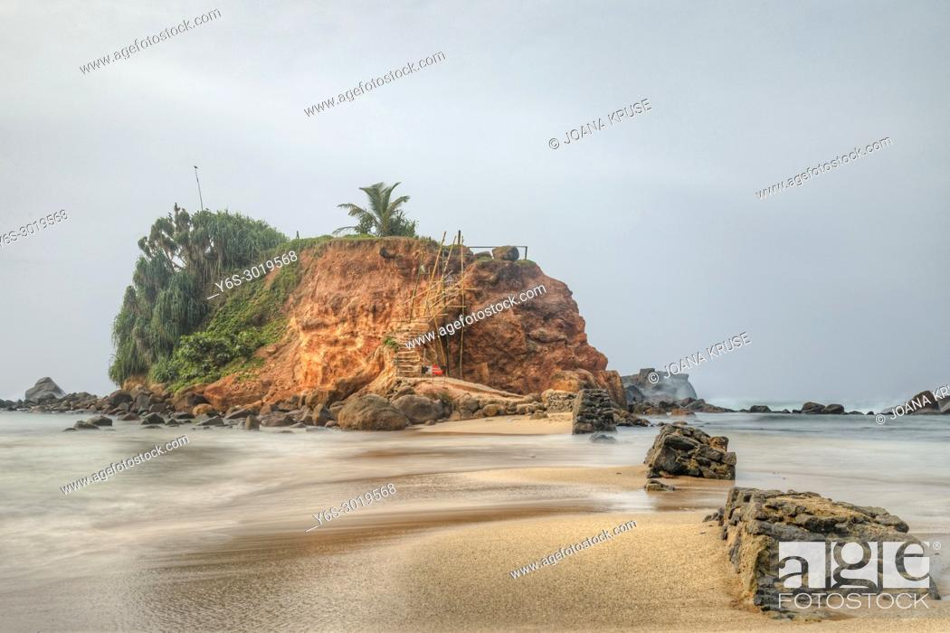 Stock Photo: Mirissa, beach, Sri Lanka, Asia.
