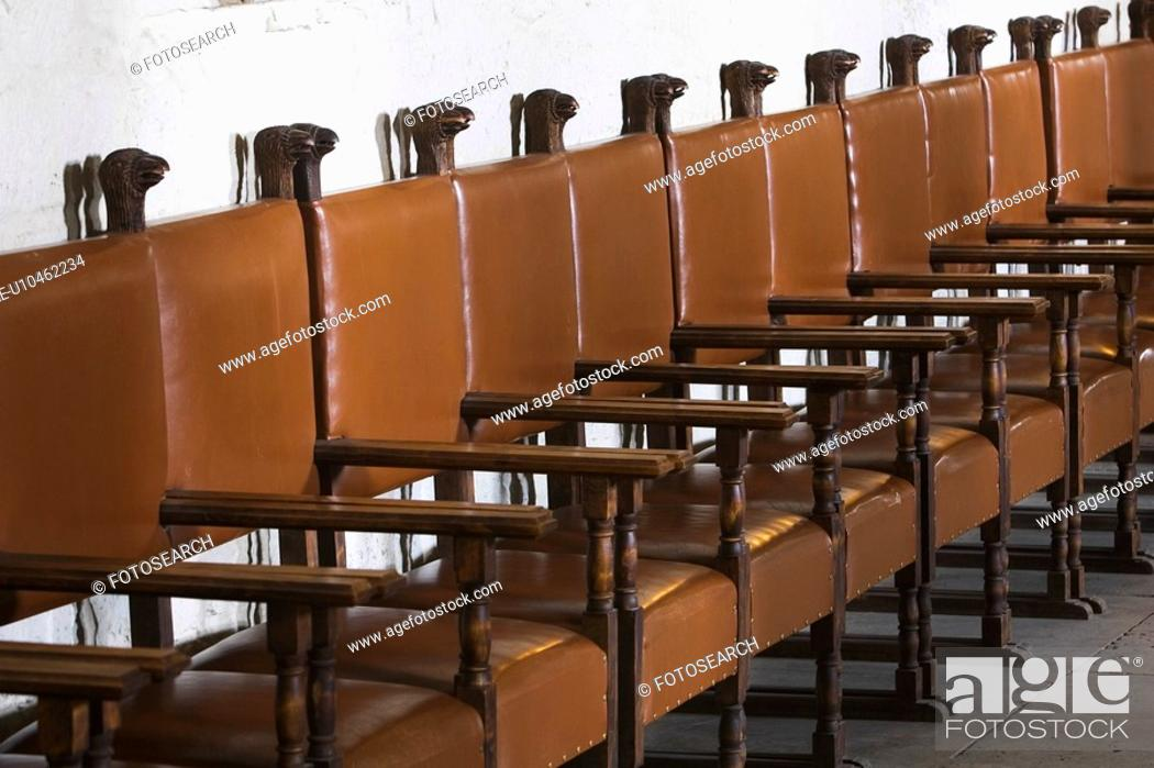 Stock Photo: Chairs, Seats, Seating.