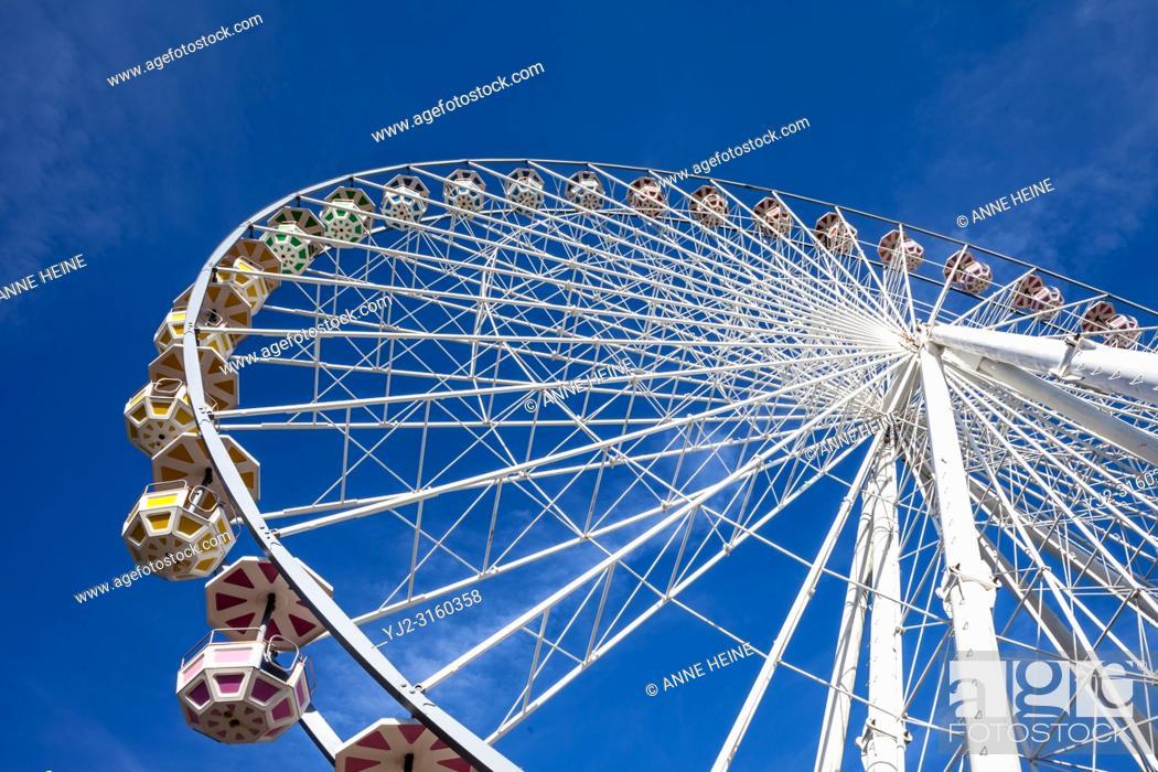 Stock Photo: Ferris Wheel. Amusement Park Fort Fun, Sauerland, Bestwig, Germany.
