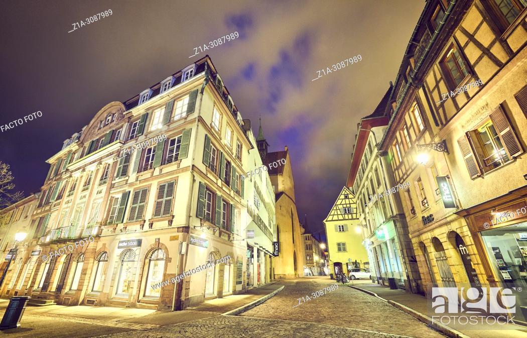 Imagen: Colmar city center. Alsace. Grand Est. France.