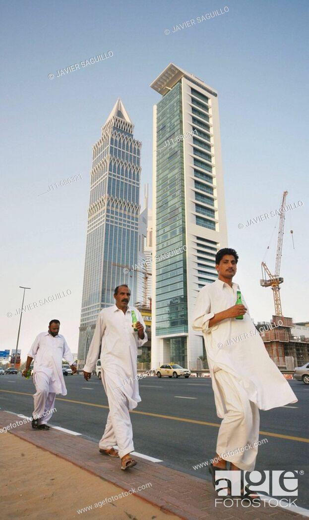 Stock Photo: Dubai. United Arab Emirates.