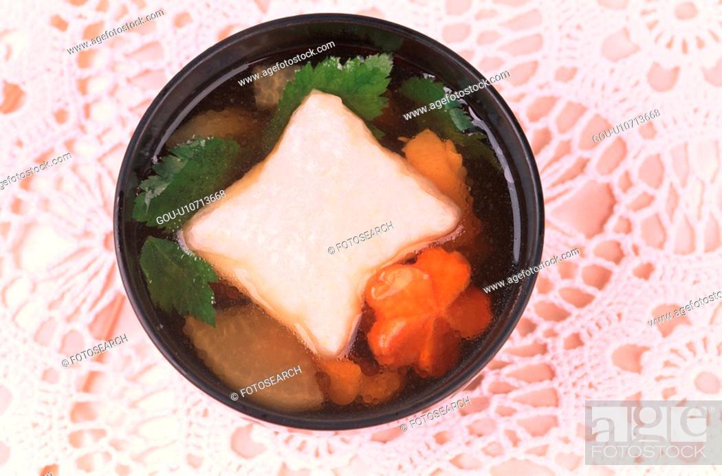 Stock Photo: Bowl Of Zoni.