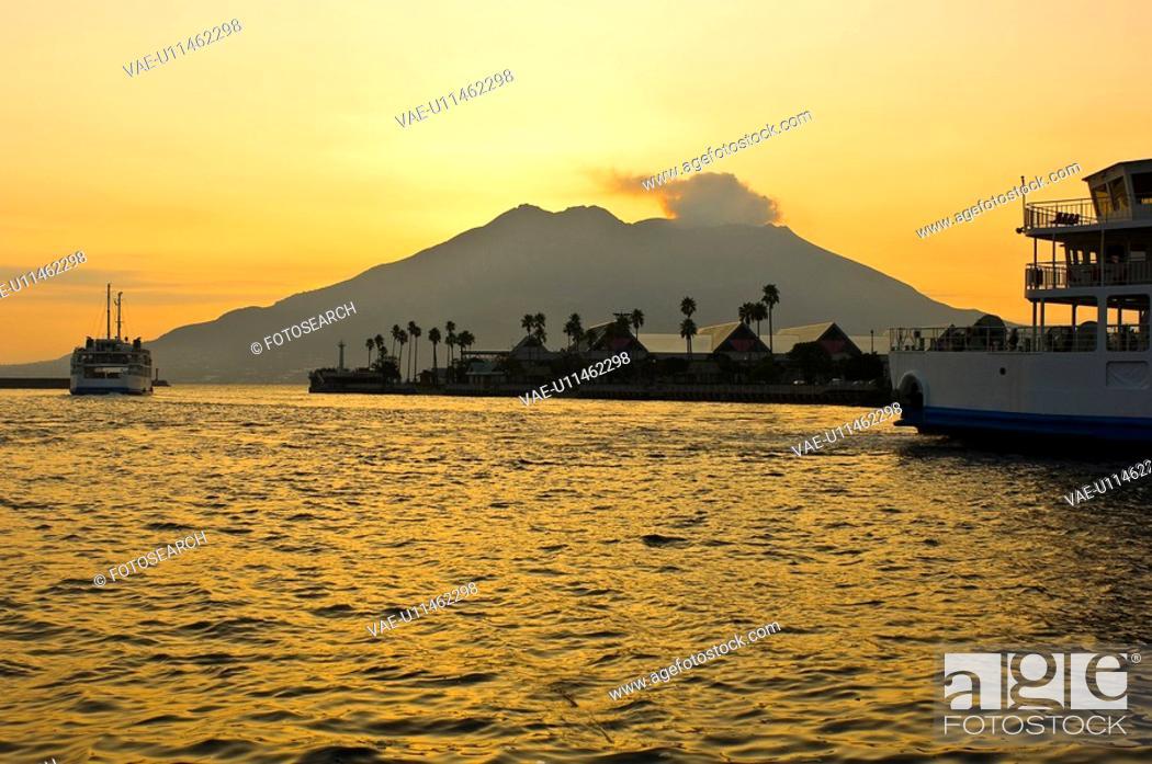 Stock Photo: Sakurajima.