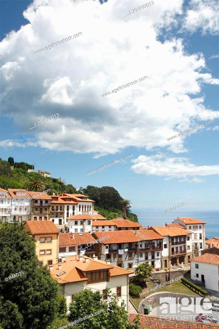 Stock Photo: Lastres, Asturias, España.