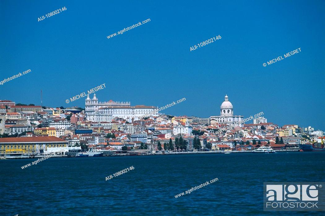 Stock Photo: Portugal - Lisbon - General view.