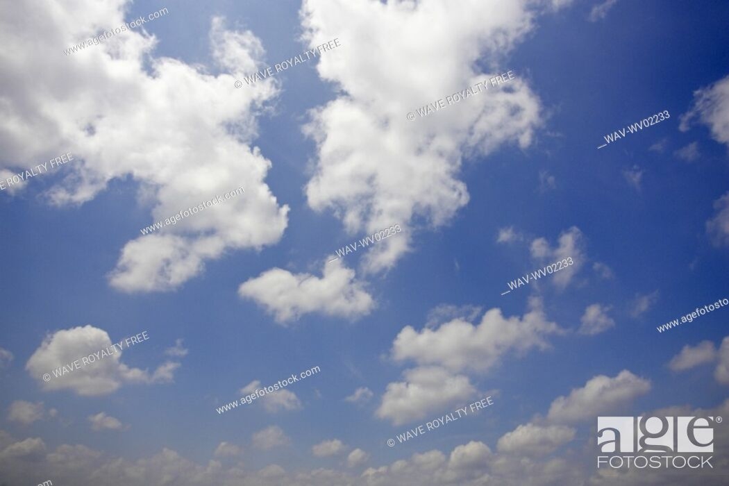 Stock Photo: Sky scape with clouds, Canada, Ontario, Hamilton.