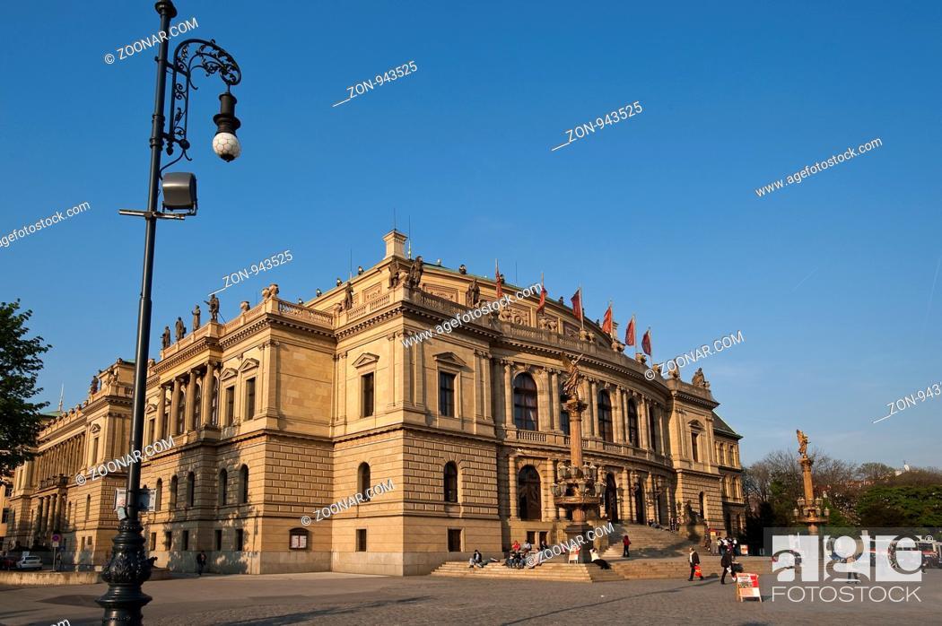 Stock Photo: Rudolfinum, Prag, Tschechien | Rudolfinum, Prague, Czech Republik.
