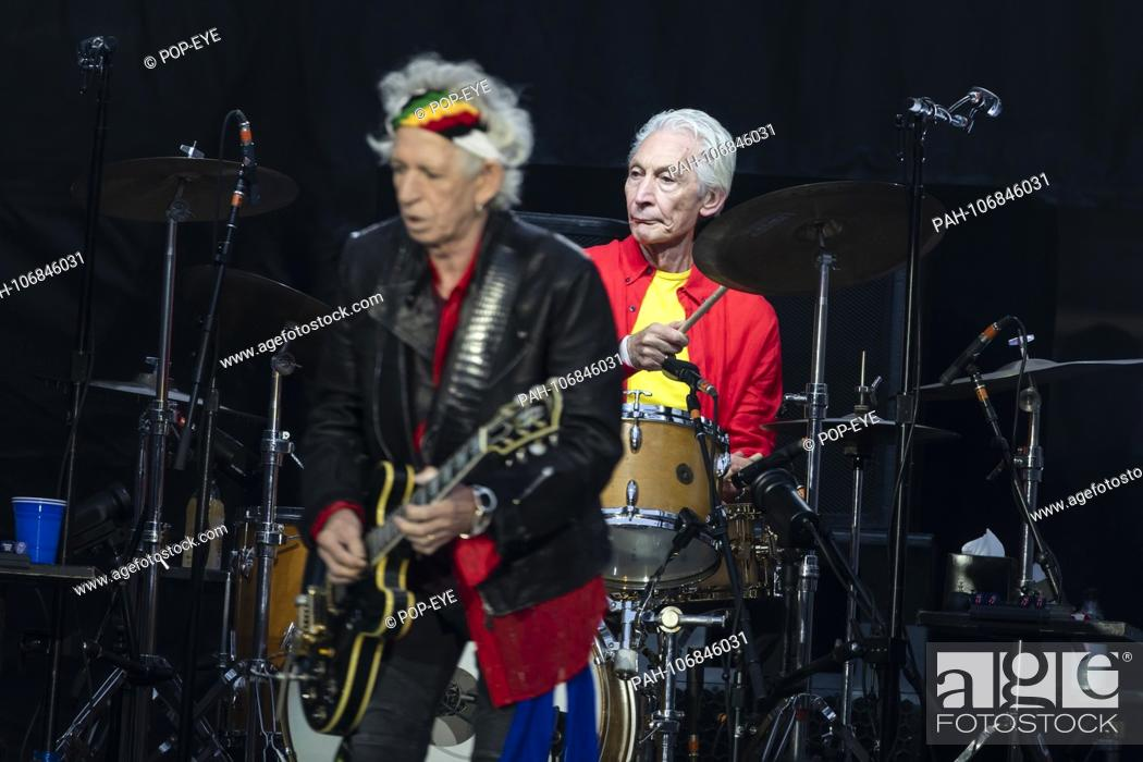 19 / The Rolling Stones, guitarist Keith Richards, drummer
