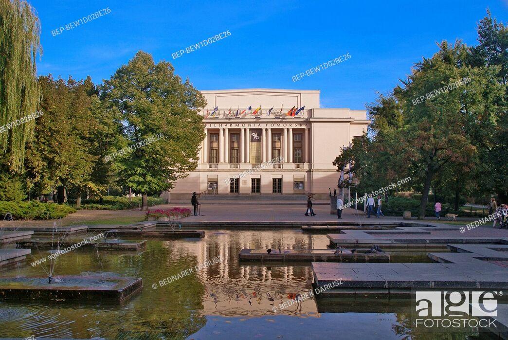 Imagen: Ignacy Jan Paderewski Pomeranian Philharmonic. Bydgoszcz, Kuyavian-Pomeranian Voivodeship, Poland.