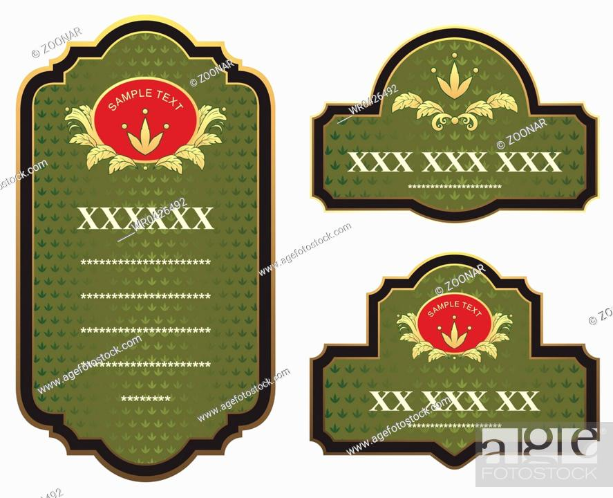 Imagen: set of design elements.