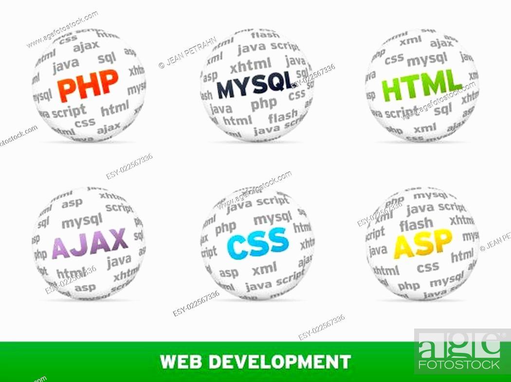 Stock Photo: Web Development.