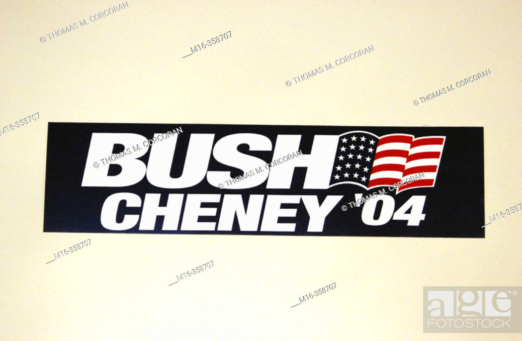 Valuable piece bumper cheney dick sticker