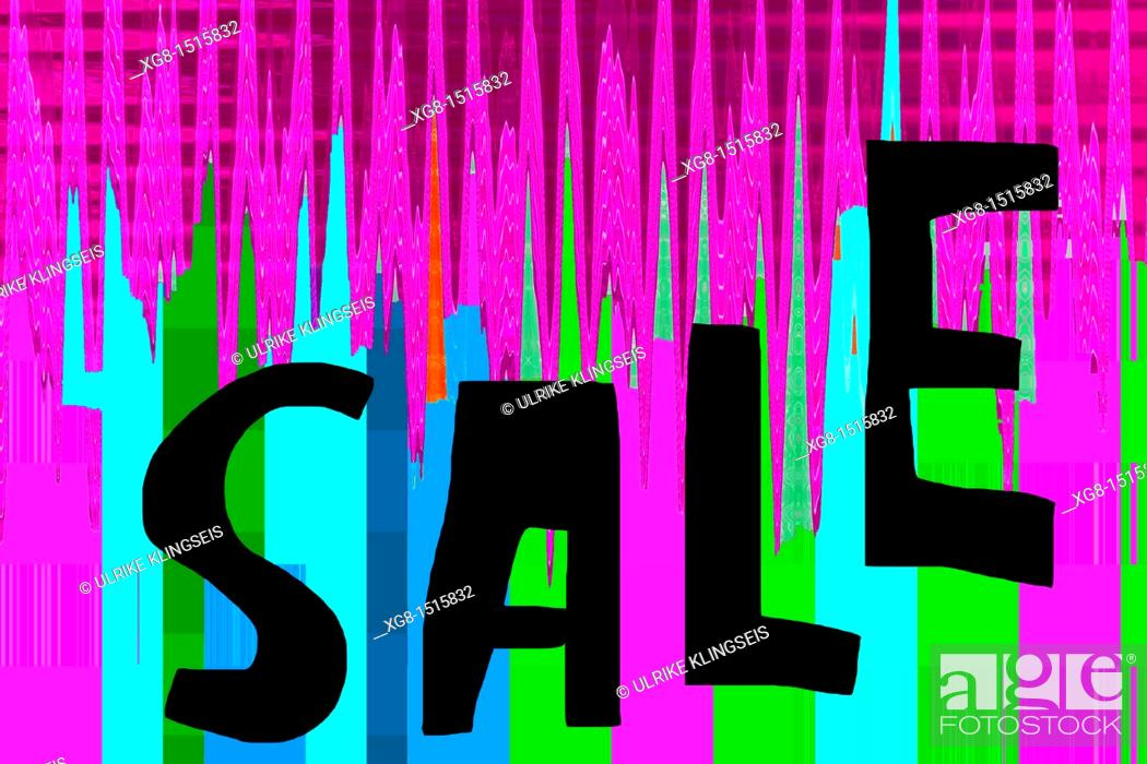 Stock Photo: sale sign.