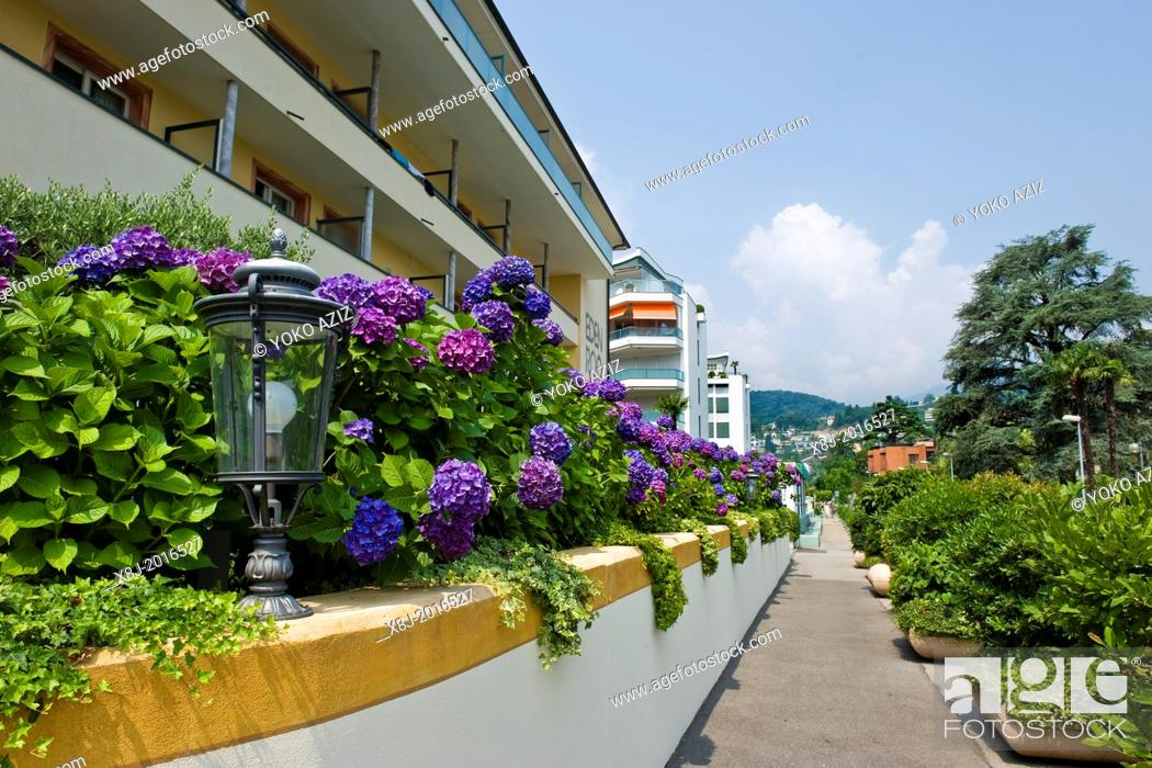Imagen: Switzerland, Canton Ticino, Ascona, Eden Roc hotel.