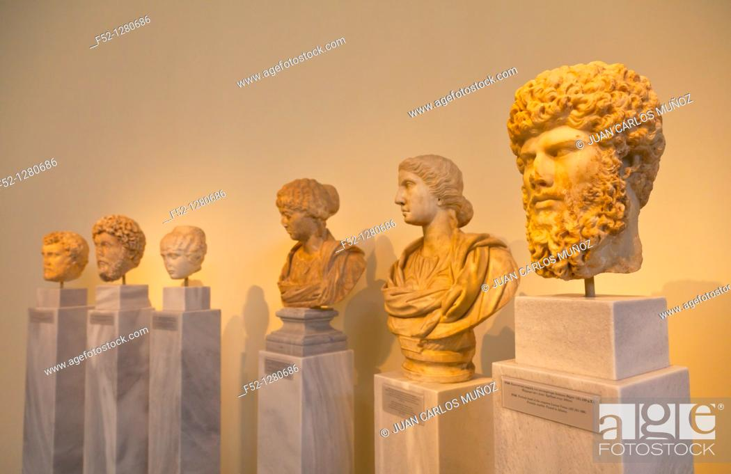 Stock Photo: National Archaeological Museum, Athens, Greece.