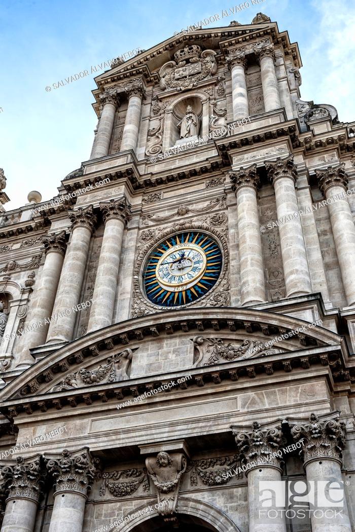 Imagen: Iglesia de Saint Paul-Saint Louis. París. Francia.