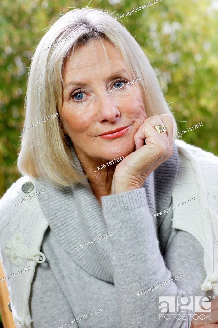 Imagen: Senior woman.